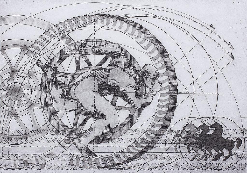 Equilibrio en rueda (2001)