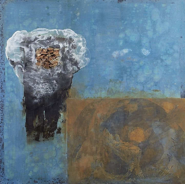 Nube azúl (Cúmulus) (2014)