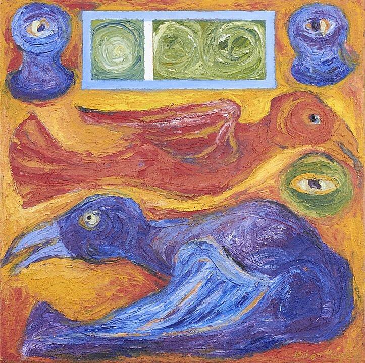Pájaro rojo-violeta (2017)
