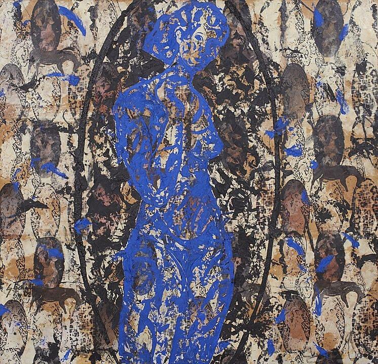 Mujer azúl (2002)