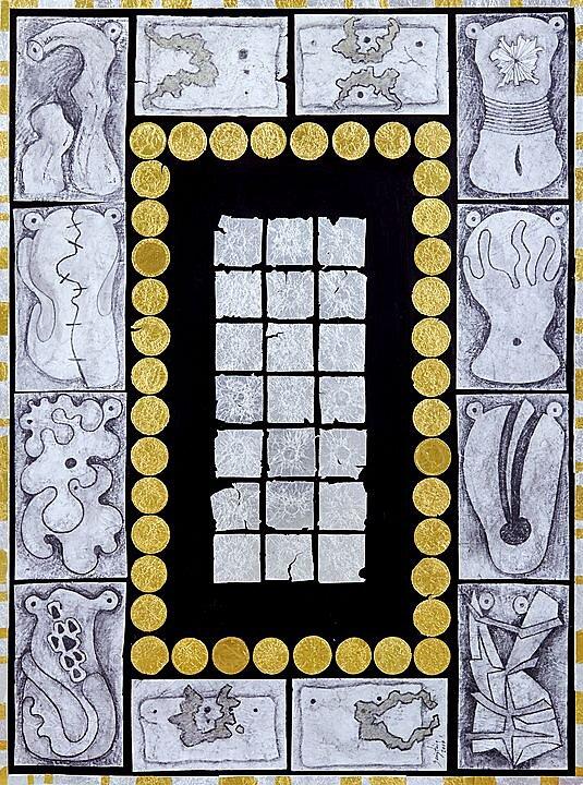 Las venus del retablo, Serie Diosas o amuletos (2017)