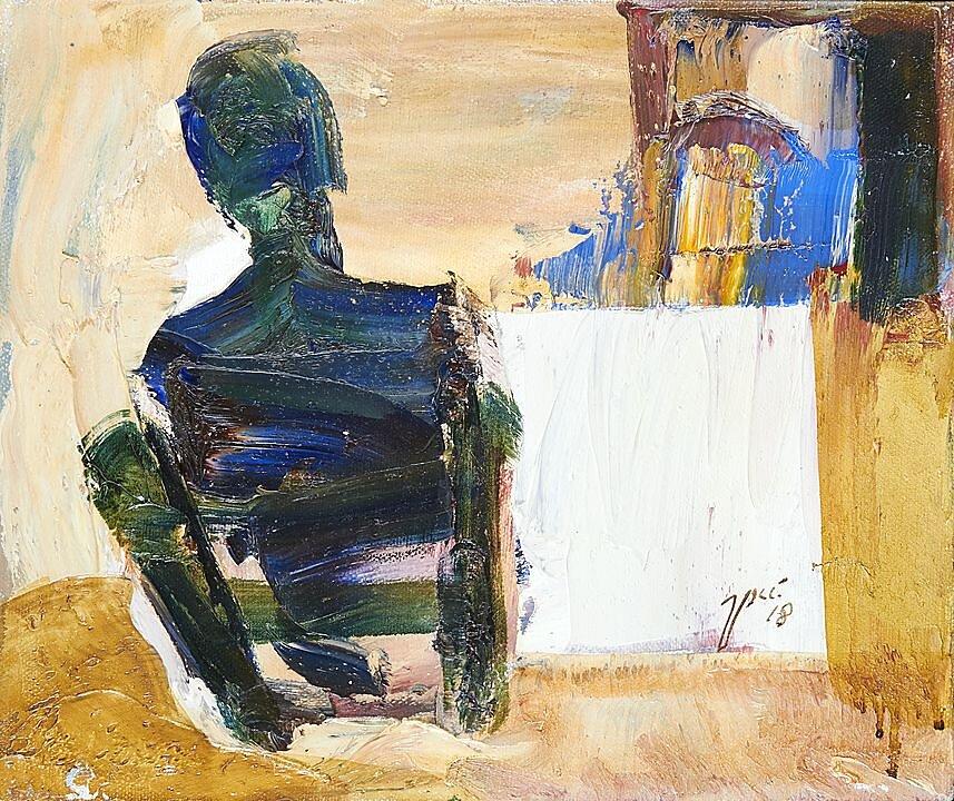 Pintor Sentado (2018)