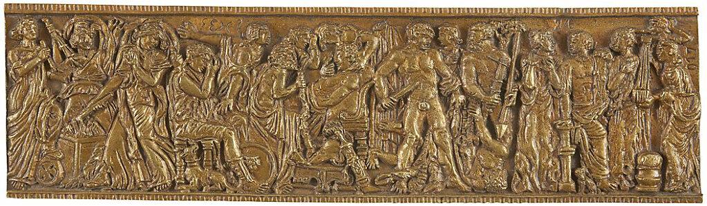Sarcófago Borghese II (Louvre) (2016)