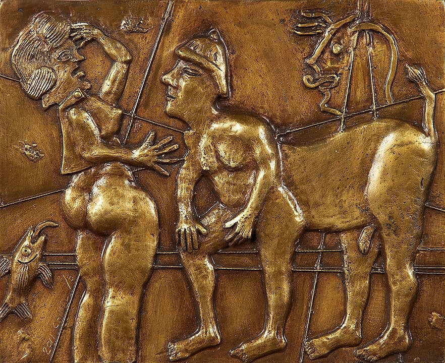 Mujer con centauros (2011)