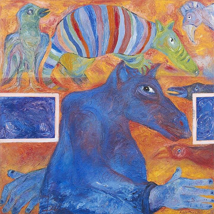 Pinturas de Rubén Maya