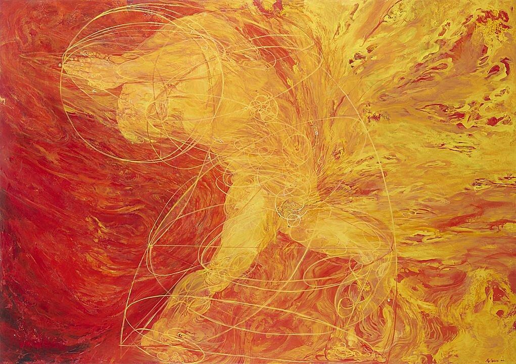 Pintura Flor Minor