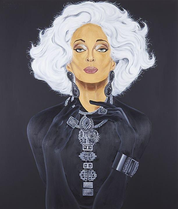 Negro Fluoresente, Carmen Dell'Orefice (2017)