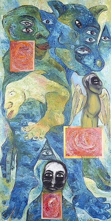 Rubén Maya - Galeria Arte contemporaneo SMA